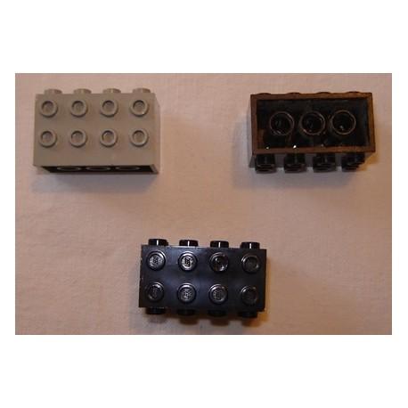 LEGO 2434 Brick 2 x 4 x 2 with Studs on Sides