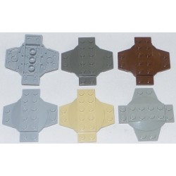 LEGO 30303 Plate 6 x 6 x 2/3 Cross with Dome