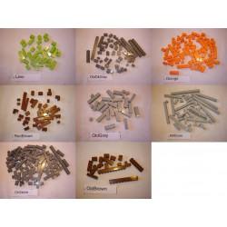 Brique standart 1 tenon (faibles quantités et couleurs rares)