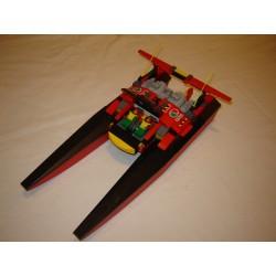 LEGO System 7244 Speedboat Hors-bord 2005