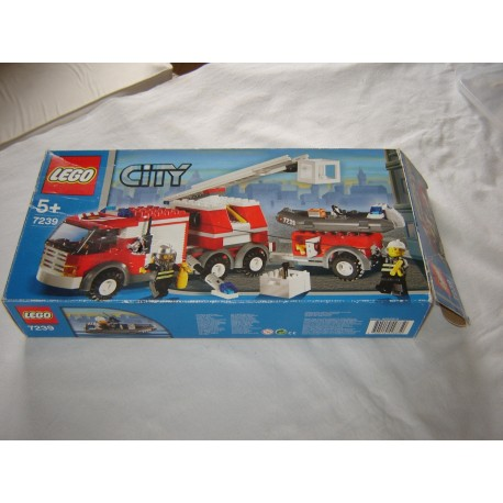 LEGO City Boites et Notices diverses