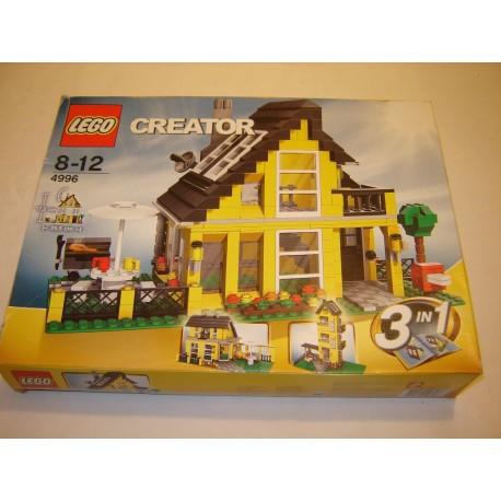 LEGO 4996 Creator boite 2008
