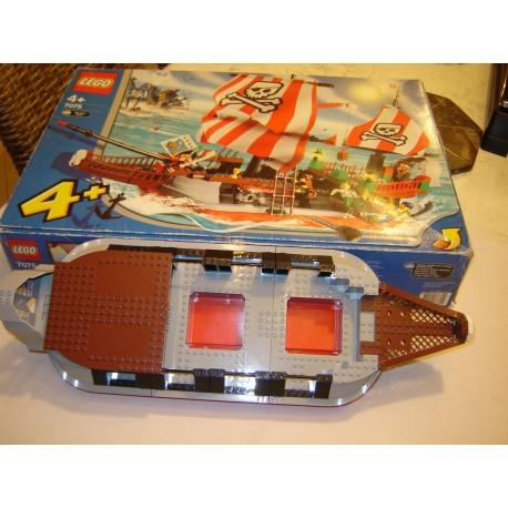 LEGO 4+ 7075 boite et pièces 2004 incomplet