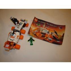 LEGO System 7648 MT-21 unité mobile Mars Mission 2008