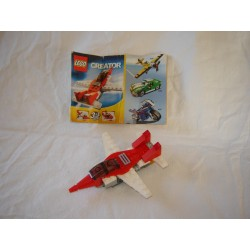 LEGO Creator 6741 Mini Jet 2009 COMPLET avec notice