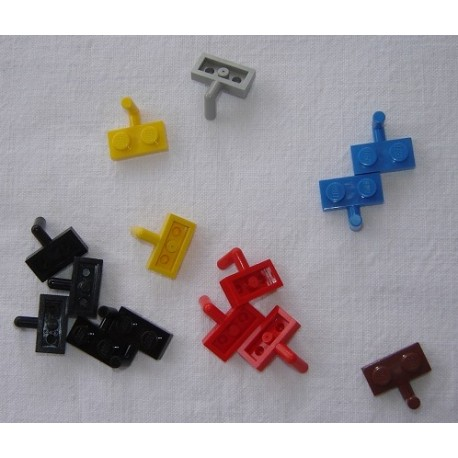 LEGO 4623 Plate Special 1 x 2 with Arm Up [Horizontal Arm 6mm]