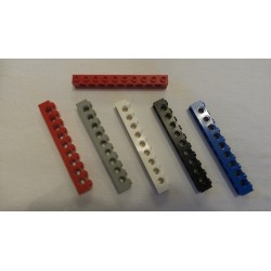 LEGO 2730 Technic Brick 1 x 10 with Holes