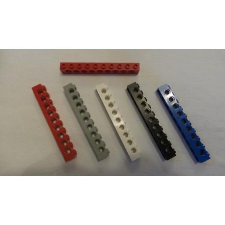LEGO 2730 Technic Brick 1 x 10 with Holes