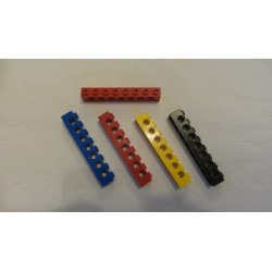 LEGO 3702 Technic Brick 1 x 8 with Holes