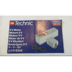 LEGO Technic Motor 9 V Notice 1993