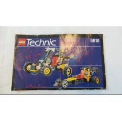 LEGO Technic 8818 Notice 1993