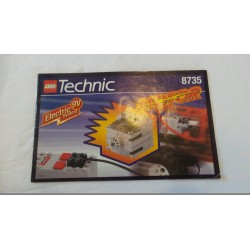 LEGO Technic 8735 Notice Power Pack Motor Set 1997