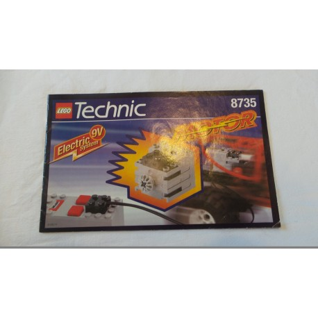 LEGO Technic 8735 Power Pack Motor Set 1997