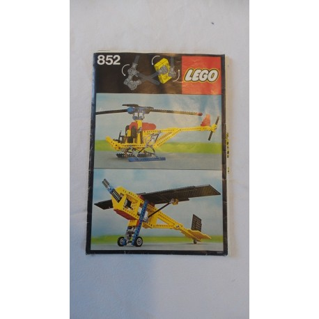 LEGO Technic 852 Notice 1978