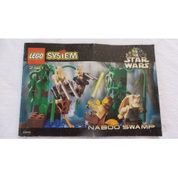 LEGO 7121 Notice Star wars 1999