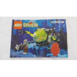 LEGO 6140 / 6109 Notice System 1998