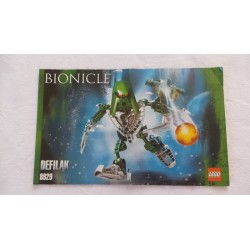 LEGO 8929 Notice Bionicle 2007