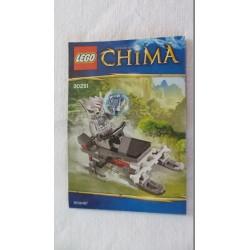 LEGO 30251 Notice Chima 2013