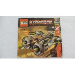LEGO 7704 Notice Exo-Force 2006