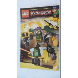 LEGO 8100 Notice Exo-Force 2007