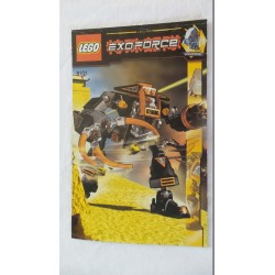 LEGO 8101 Notice Exo-Force 2007