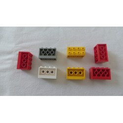 LEGO 6061 Brick 2 x 4 x 2 with Holes on Sides