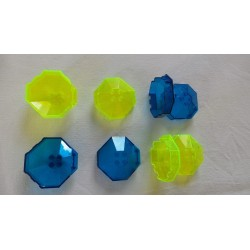 LEGO 2418a Windscreen 6 x 6 Octagonal Canopy without Axlehole