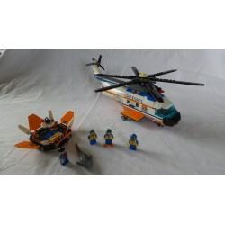 LEGO System 7738 Hélicoptère des garde-côtes 2008