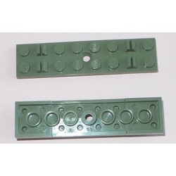 LEGO  767 Train Track Sleeper Plate 2 x 8 without Cable Grooves