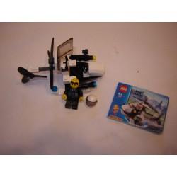 LEGO City 4991 mini hélicoptère de police