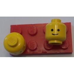 LEGO 3626ap01 Minifig Head with Solid Stud and Standard Grin Pattern
