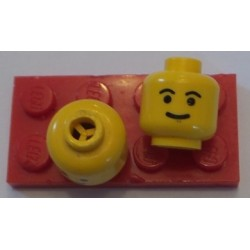 LEGO 3626bp05 Minifig Head with Standard Grin and Eyebrows Pattern