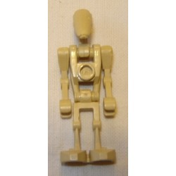 LEGO sw0001b Battle Droid Tan without Back Plate 1999-2014