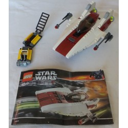LEGO Star wars 6207 A-Wing fighter 2006 QUASICOMPLET