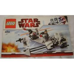 LEGO 8084 instructions (notice) Snowtrooper Battle Pack (2010)