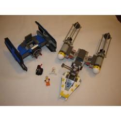 LEGO Star wars 7150 Tie Fighter & Y-Wing 1999
