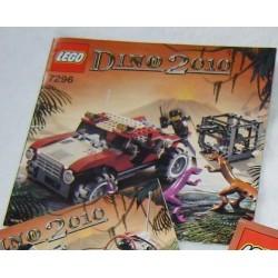 LEGO 7296 instructions (notice) Dino 2010 (2005)