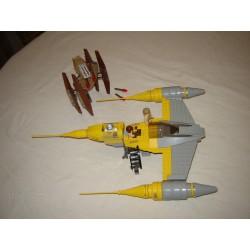 LEGO Star wars 7660 Naboo Starfighter et Vultur Droid 2007