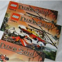 LEGO 7298 instructions (notice) Dino 2010 (2005)