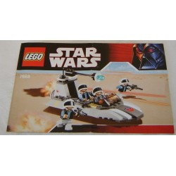 LEGO 7668 instructions (notice) Rebel Scout Speeder (2008)