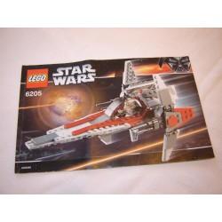 LEGO 6205 instructions (notice) V-Wing Fighter (2006)