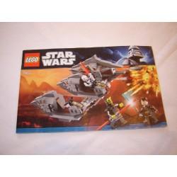 LEGO 7957 instructions (notice) Sith Nightspeeder (2011)