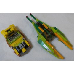 LEGO Star wars 7133 Bounty Hunter Pursuit  (without minifig, box and instructions, 2002)