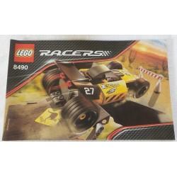 LEGO instructions Racer 8490 Desert Hopper 2008