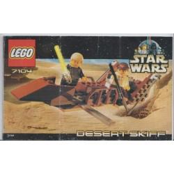 LEGO 7104 instructions (notice) Desert Skiff (2000)