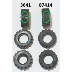 LEGO 87414 Tyre Offset Tread Small with Band around Center of Tread