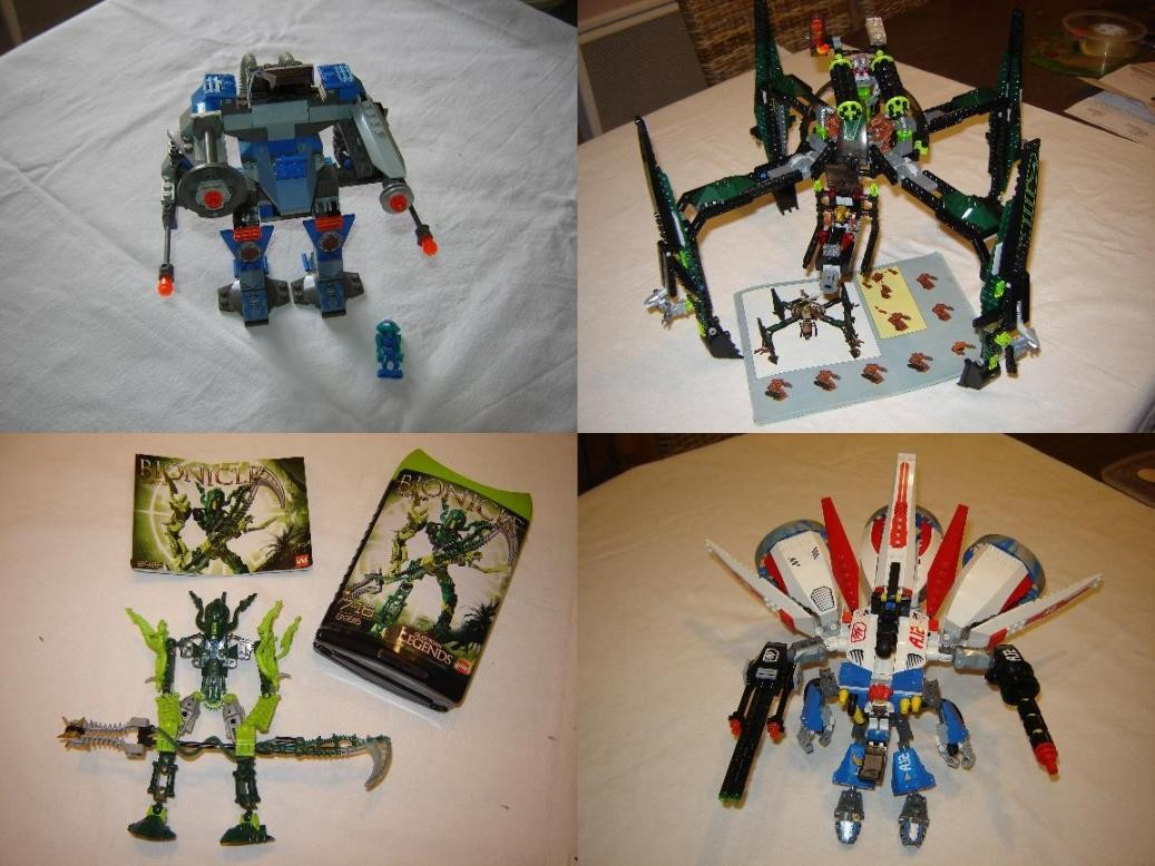 Exoforce, mission to mars, bionicle