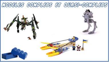Modèles complets et incomplets